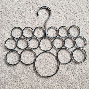 3 for $25 • Silver Scarf Hanger